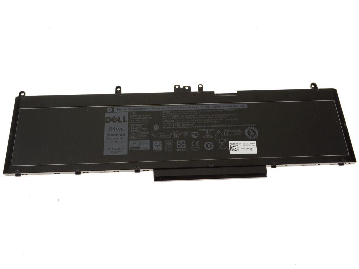 Dell Precision WJ5R2 4F5YV Batarya